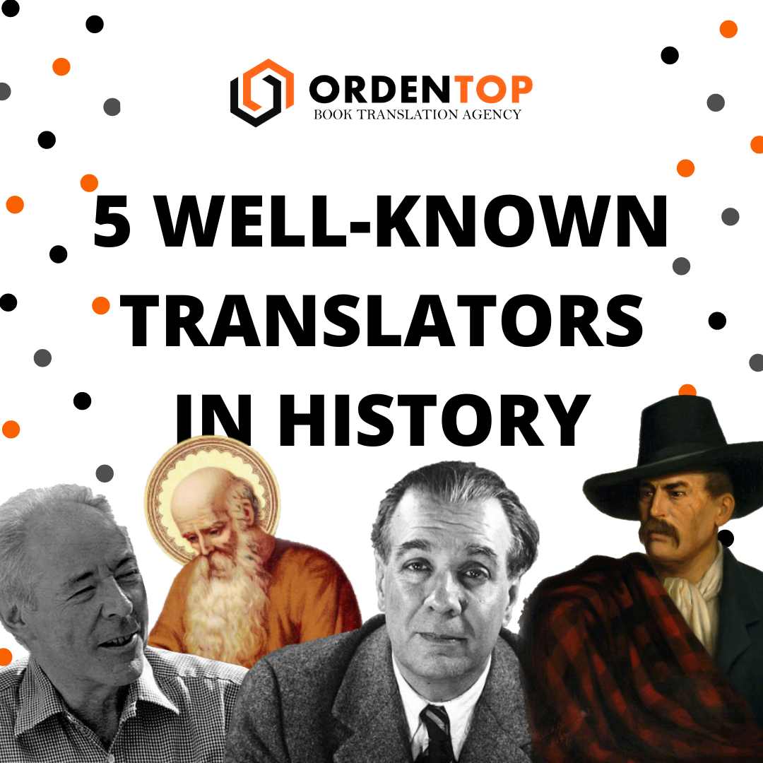 5 WELL KNOWN TRANSLATORS IN HISTROY