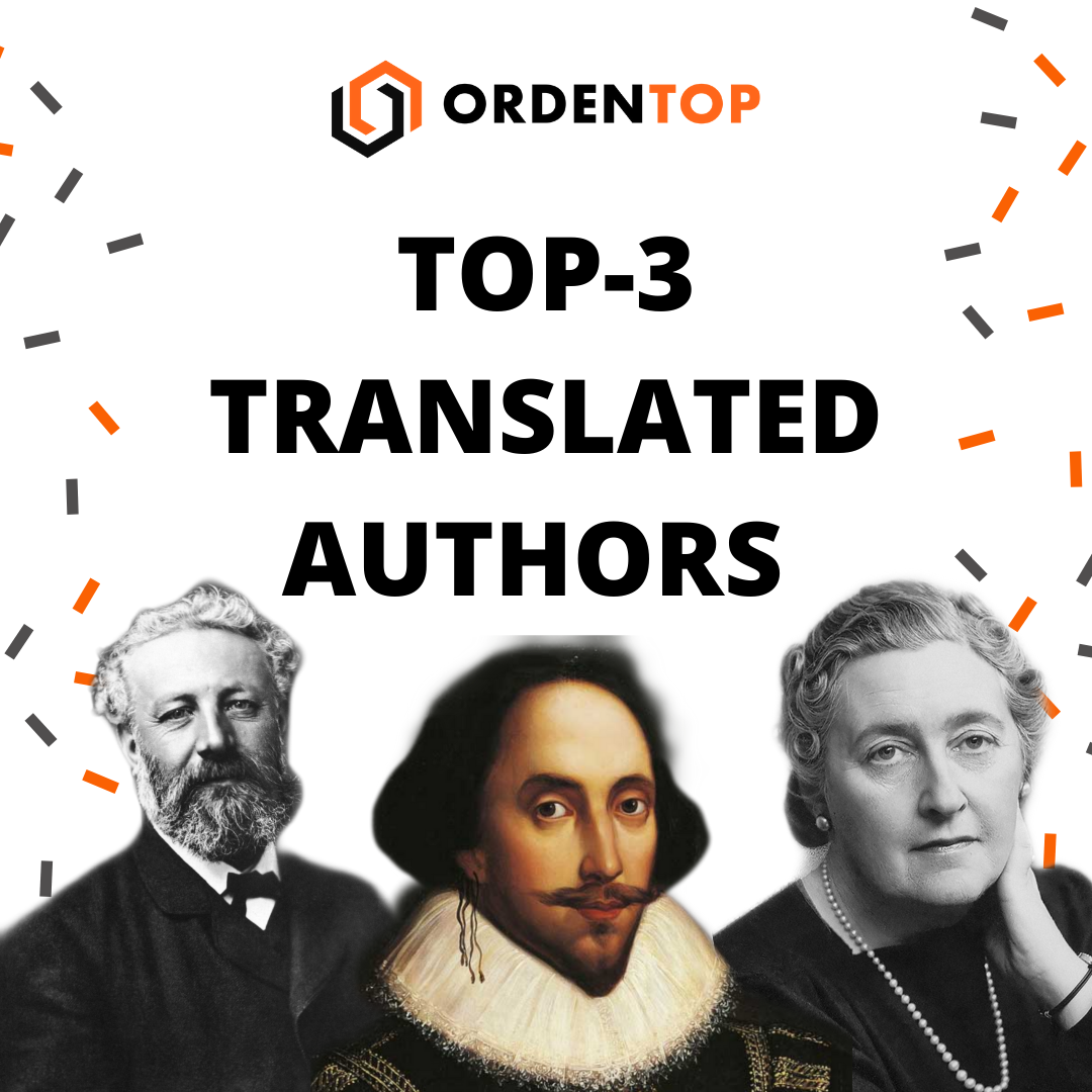 TOP 3 TRANSLATED AUTHORS