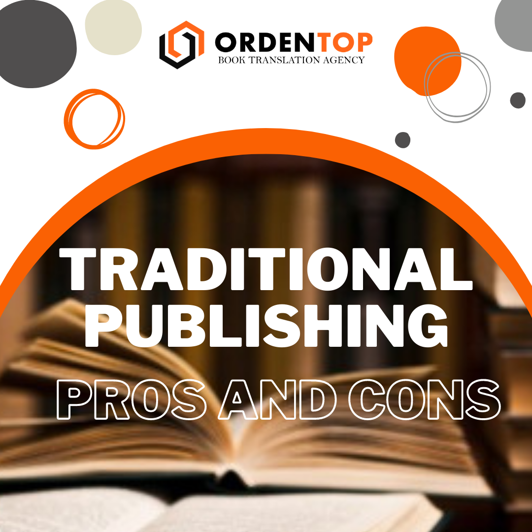 Traditional publishing: Pros and Cons