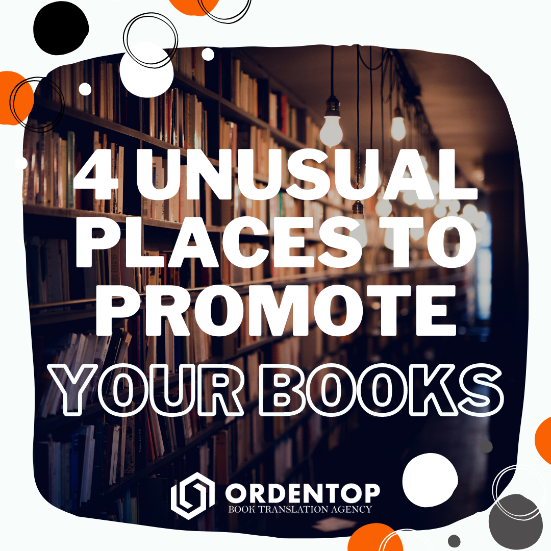 4 places to promote your books