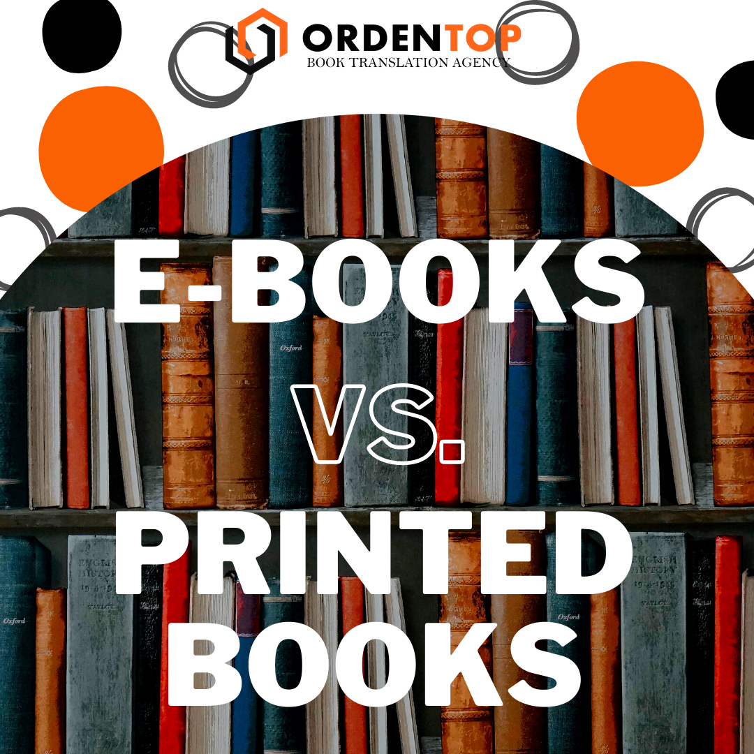 E-BOOKS VS PRINTED BOOKS