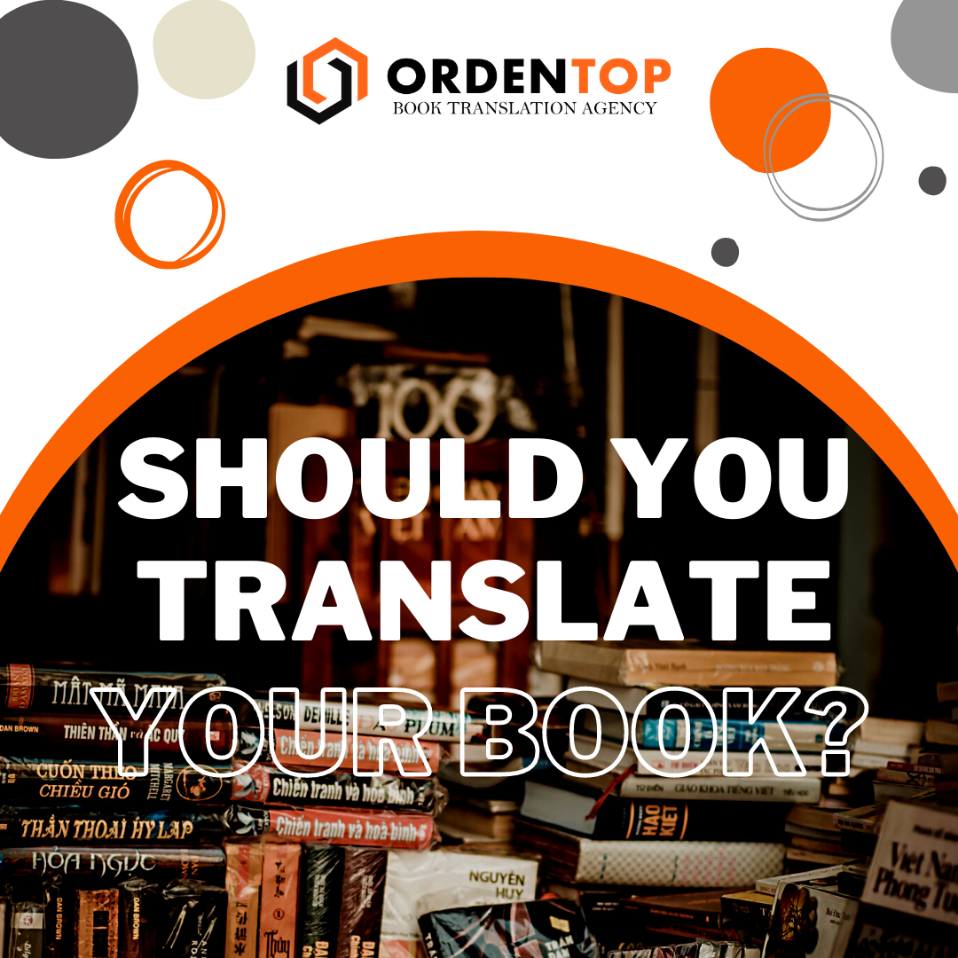Should you translate your bookя