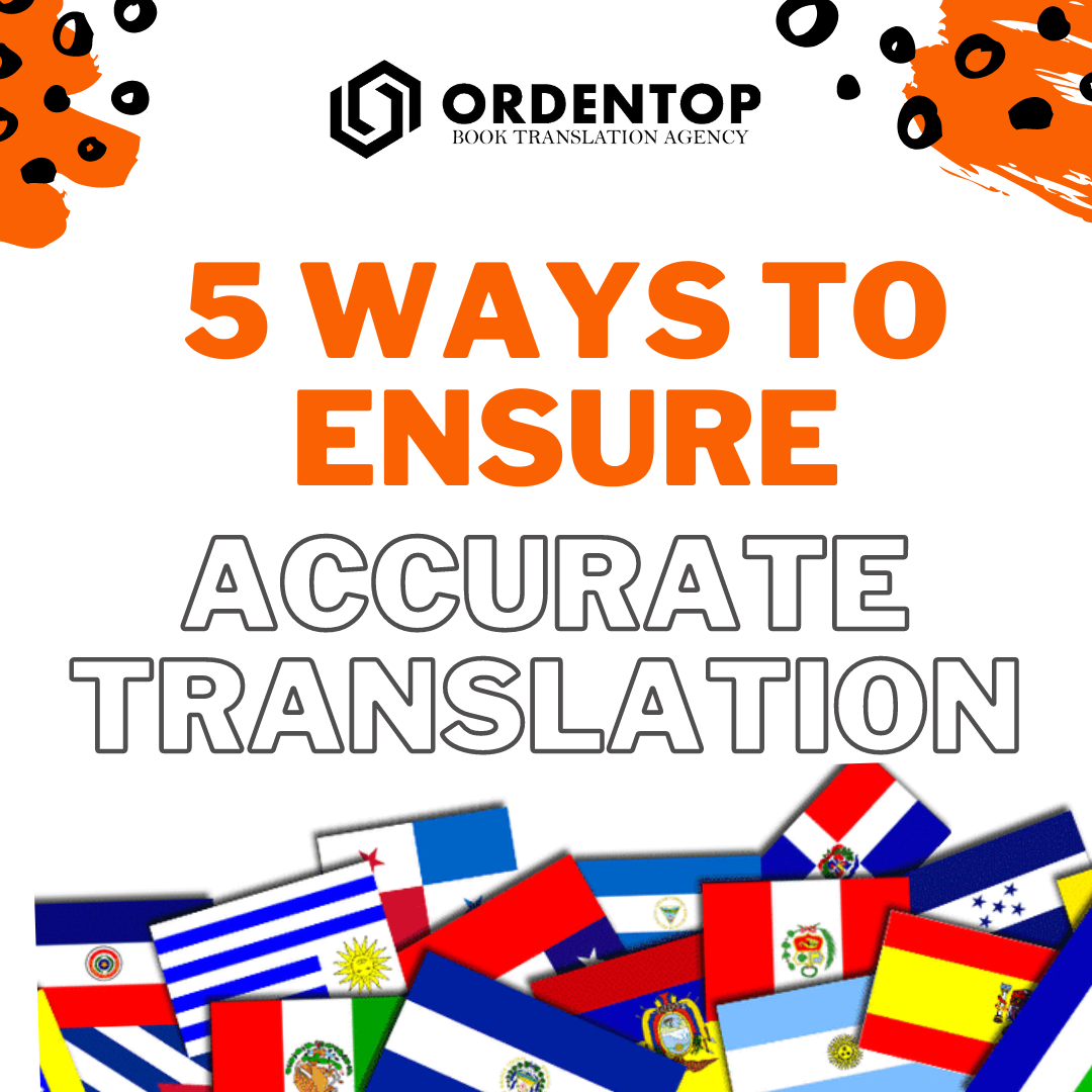 5 ways to ensure accurate translation