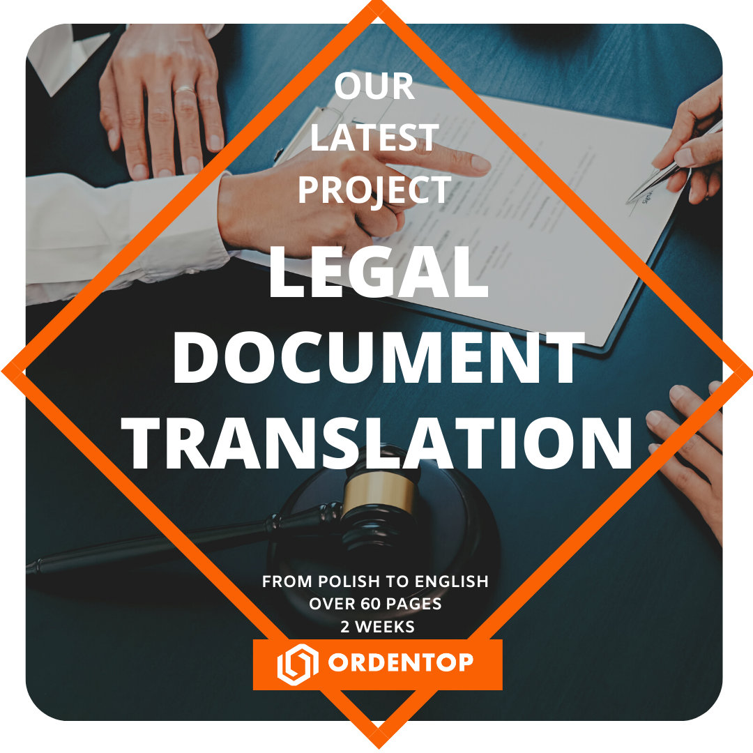 Legal Document Transaltion