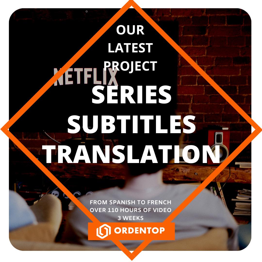 Series Subtitles Translation
