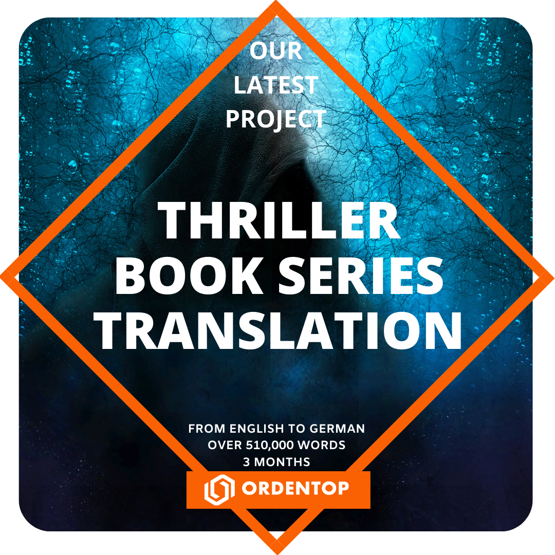 Thriller Book Series Translation